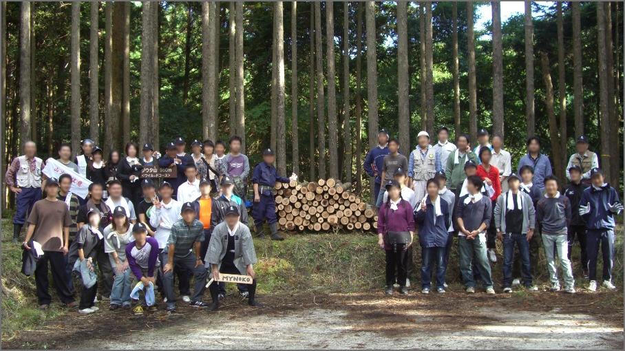 2008年 亀山山林