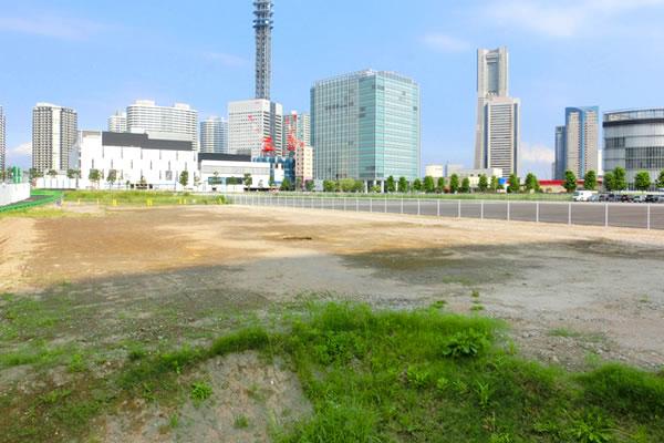 空き地の写真