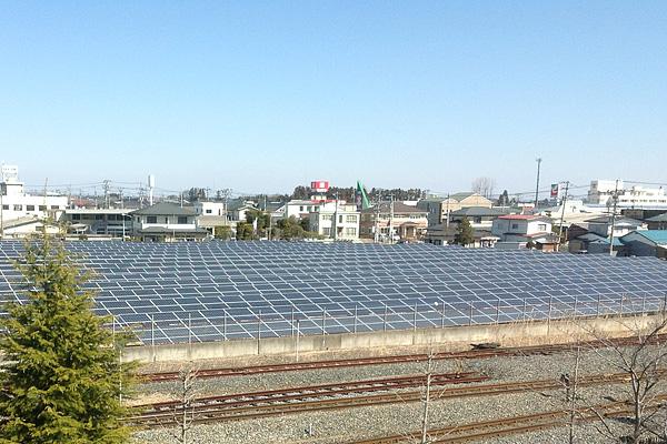 古川駅前発電所