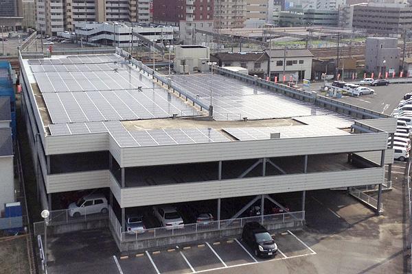 水戸駅前発電所
